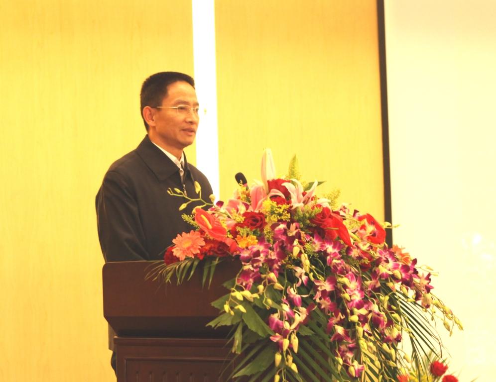 昌平区副区长、中关村科技园区昌平园管委会苏贵光主任讲话
